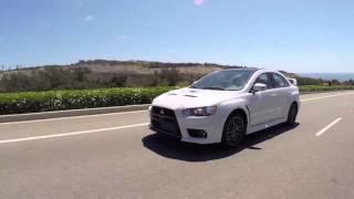 Mitsubishi EVO X Race Car Debut Videos