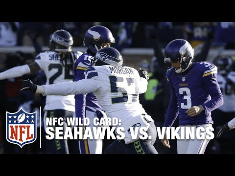 Not Even Close! Blair Walsh Misses Game-Winning FG! | Seahawks vs. Vikings | NFL
