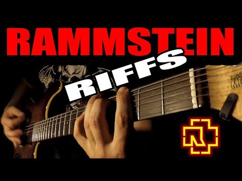 TOP 10 RAMMSTEIN RIFFS