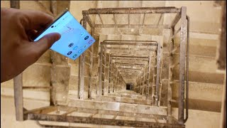 Dropping a Samsung Galaxy Note 10 Down Spiral Staircase 300 Feet - Will it Survive?
