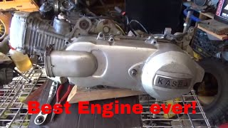 GY6 motor,  engine, clutch, torque converter, reverse all in one package,