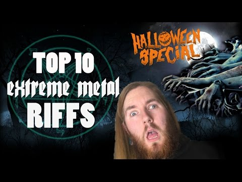 Can You Handle These 10 Ear piercing Extreme Metal Guitar Riffs?!