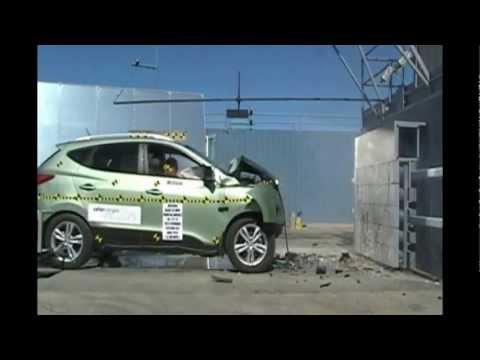 2012 Hyundai Tucson ix35 NHTSA Frontal Impact