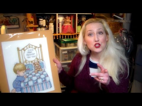 Cross Stitch and Needlepoint: How To Stretch It! - YouTube