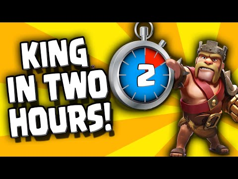 Clash of Clans - Town Hall 7 Barb King in 2 hrs?