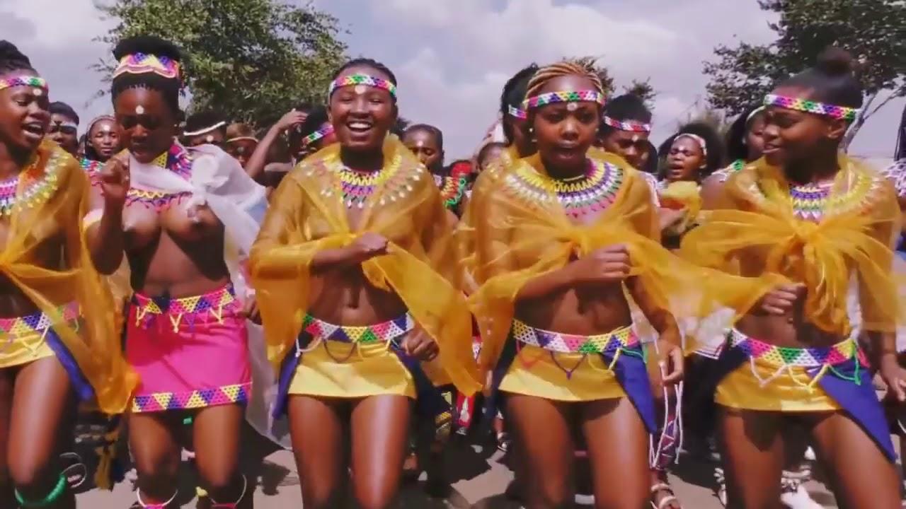 33nd annual Zulu reed dance festival - YouTube