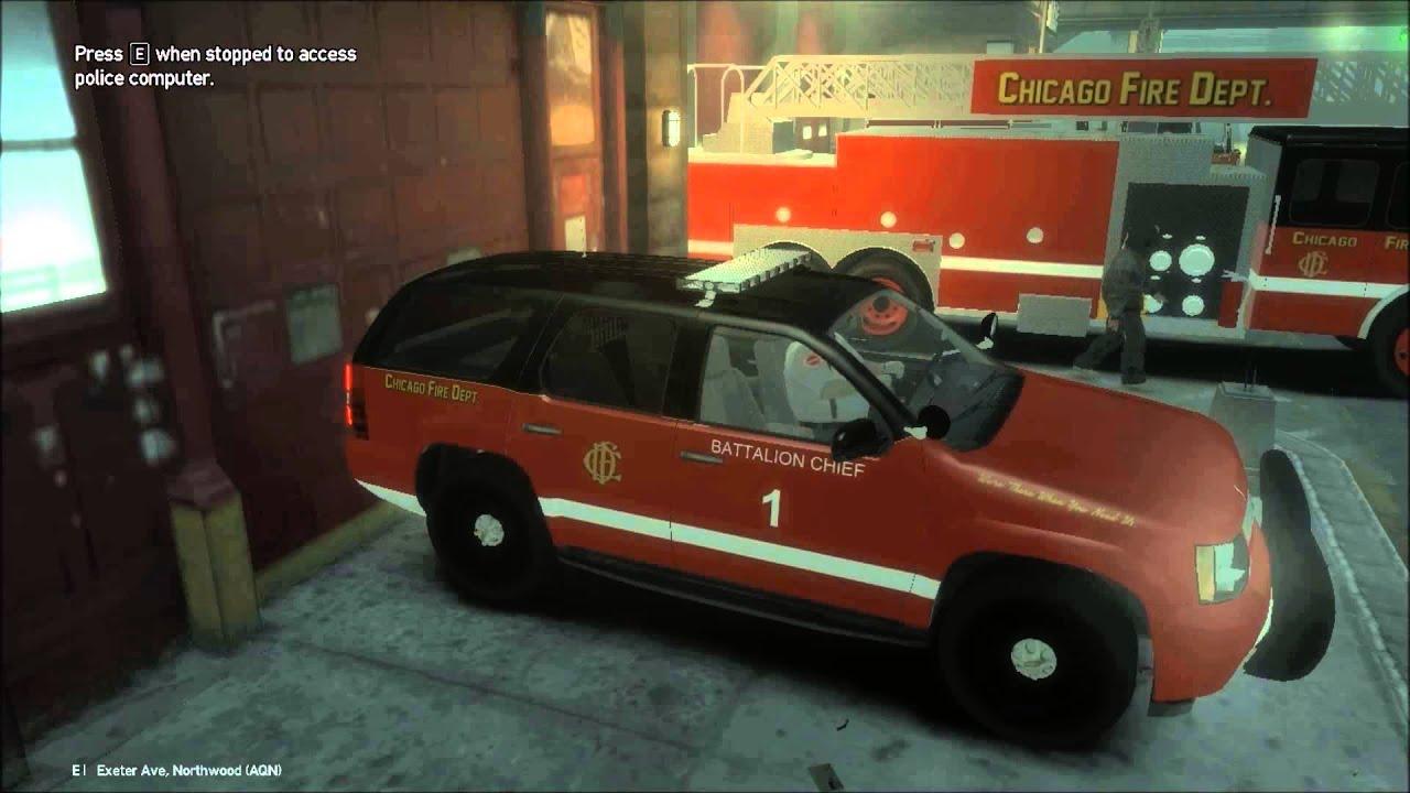 Gta V Car Hd Wallpaper Gta Iv Chicago Fire Department Battalion 1 Amp Truck Co