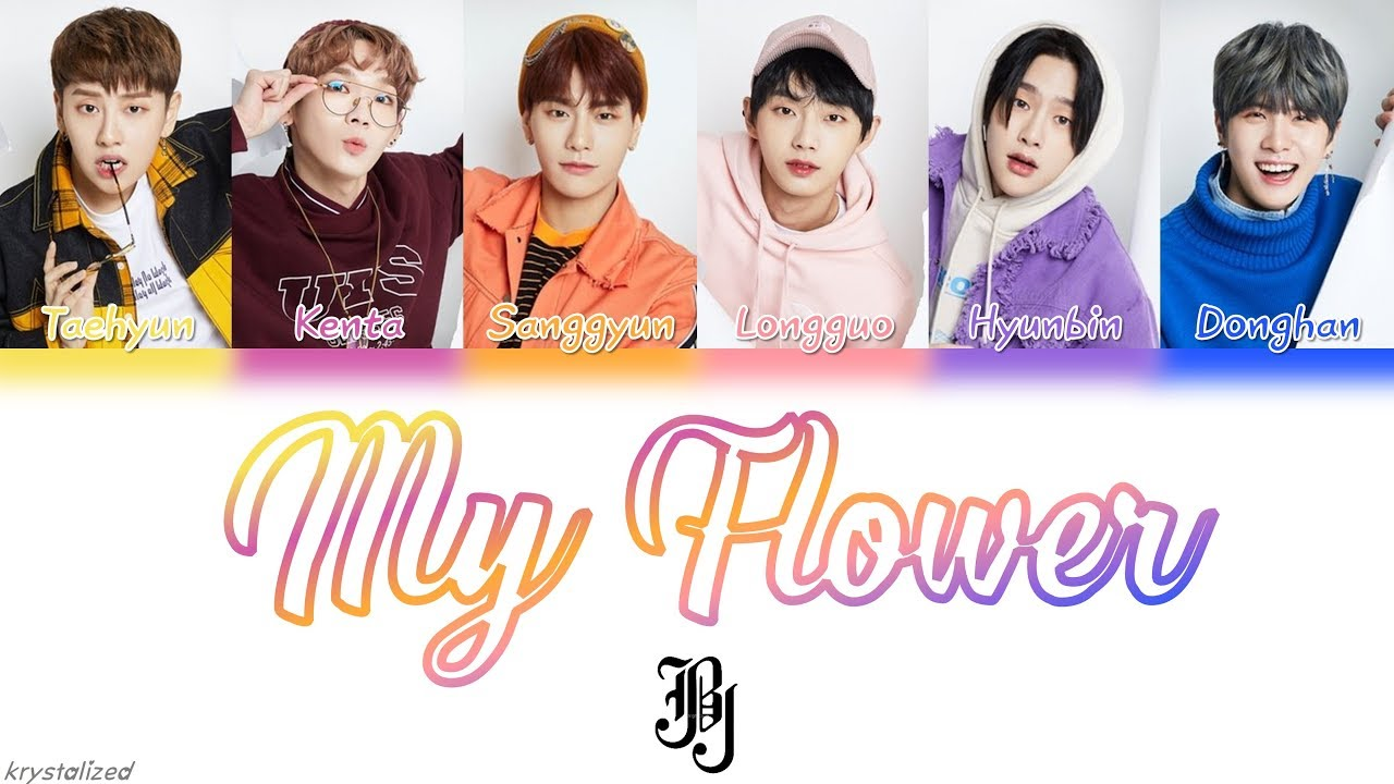 Jbj My Flower 꽃이야 Han Rom Eng Color Coded Lyrics