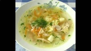 Рецепт щи на курином бульоне часть2
