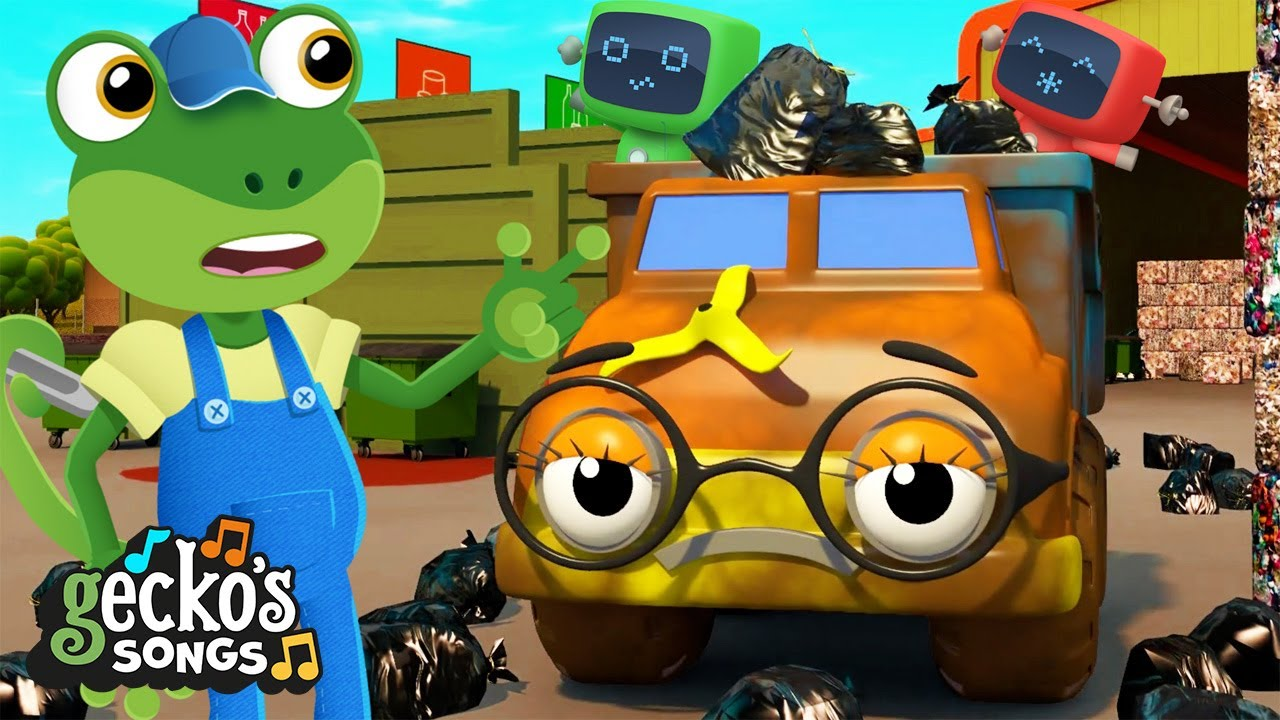 Very Muddy Trucks Song|Gecko's Garage|Songs & Nursery Rhymes|Trucks For Kids|Learning For Toddlers