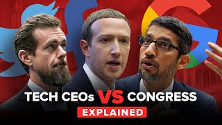 Free speech or censorship? Tech giants face off against Congress