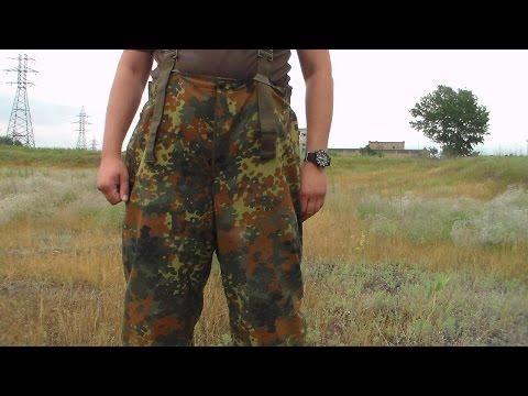 видео: Бундесверовские непромокаемые штаны с утеплителем