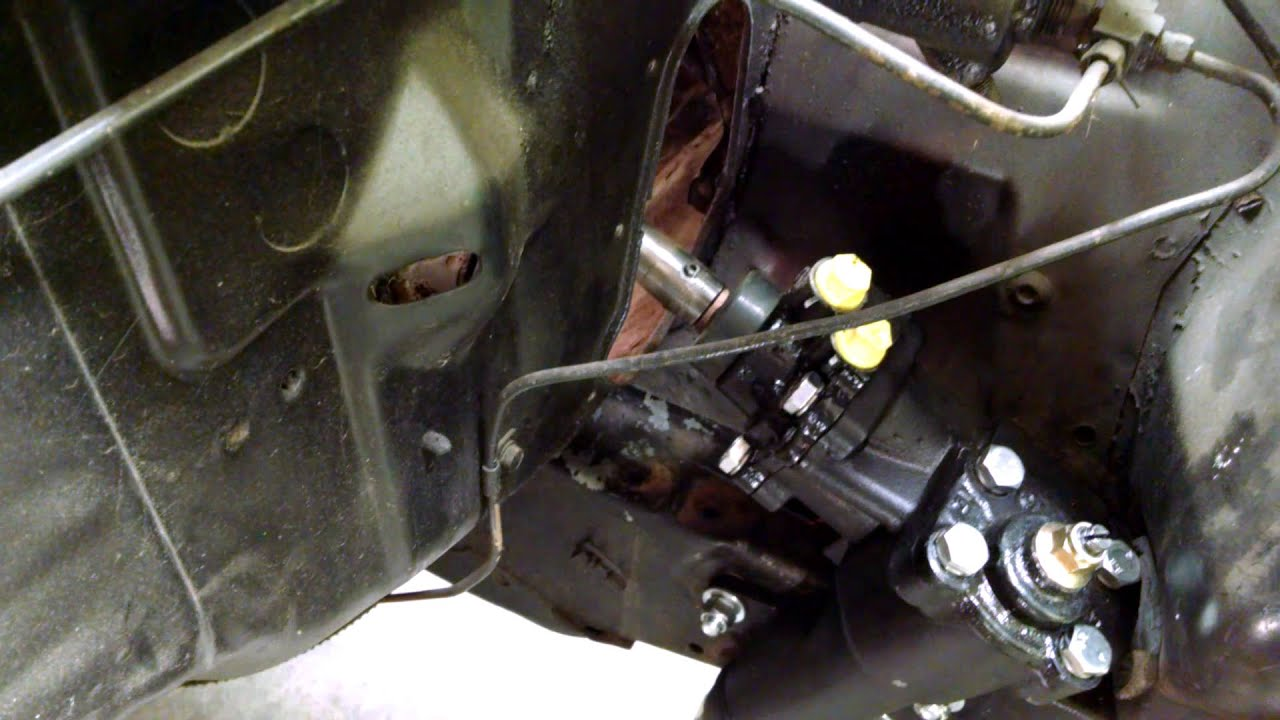 63 Falcon Borgeson Power Steering Conversion With