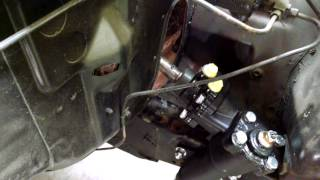 63 Falcon Borgeson power steering conversion with automatic column shifter part 1