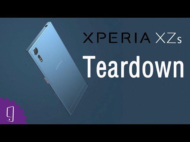 Sony Xperia XZs - Disassembly