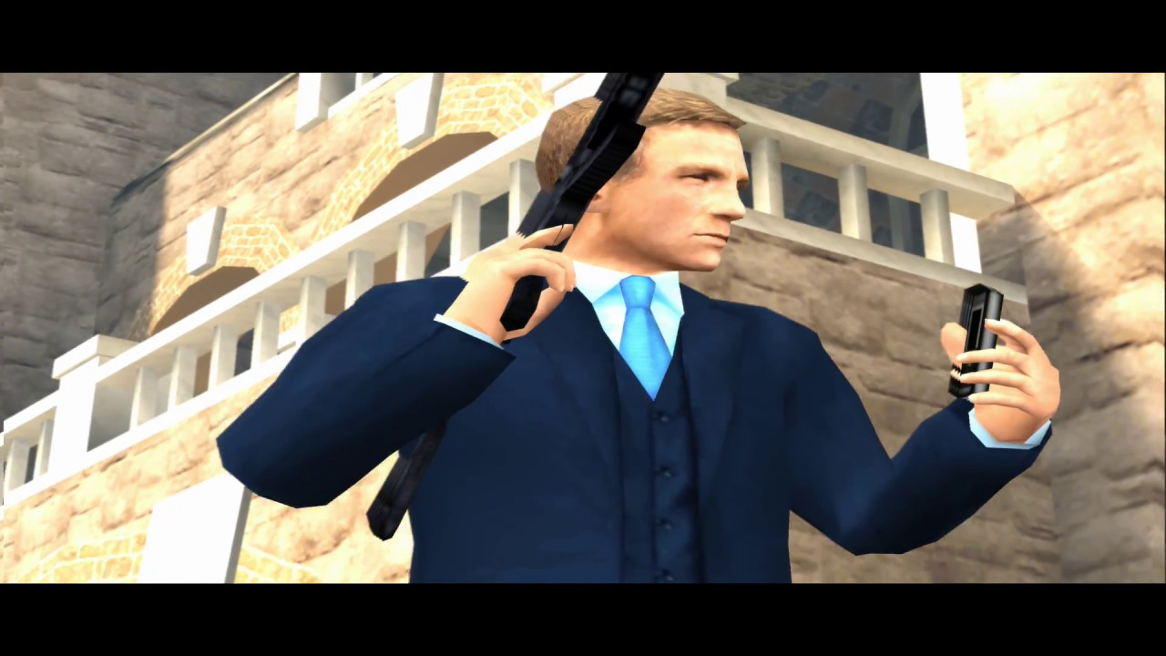 007 Quantum Of Solace Ps2 Game Intro Youtube