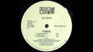 DJ Quik - Tonite (Instrumental) [HD]