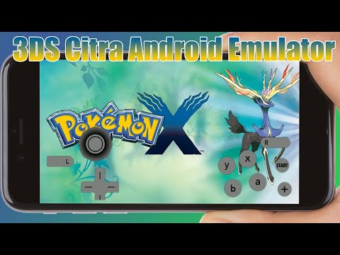 Pokemon X & Y Download For Android Highly Compressed 3DS Citra Emulator