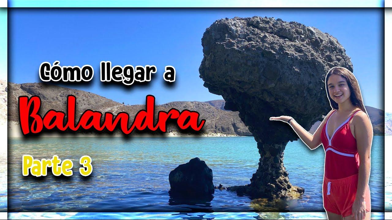 ¿CÓMO es BALANDRA? 🍄 ¡Playa MÁS BONITA de MÉXICO! (LA PAZ, BCS) ► Pt. 3 I Turismo con Pao 🎒