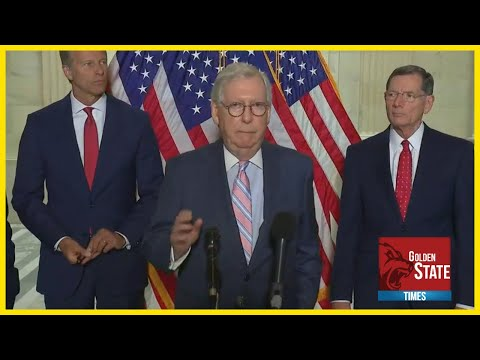 REPUBLICANS GIVE BIDEN ULTIMATUM   Senate GOP URGENT Press Conference   Inflation and the Economy