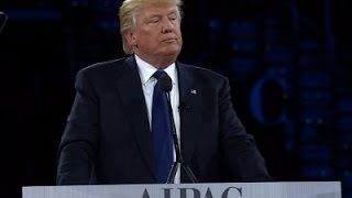 From youtube.com: Trump at AIPAC {MID-295785}