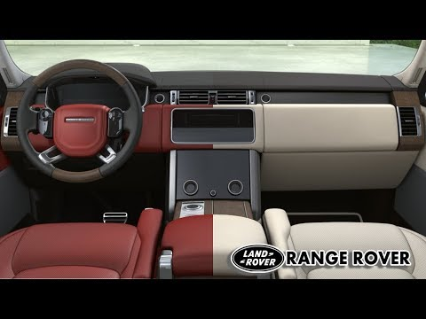 2018 range rover autobiography Interior Color Options YouTube