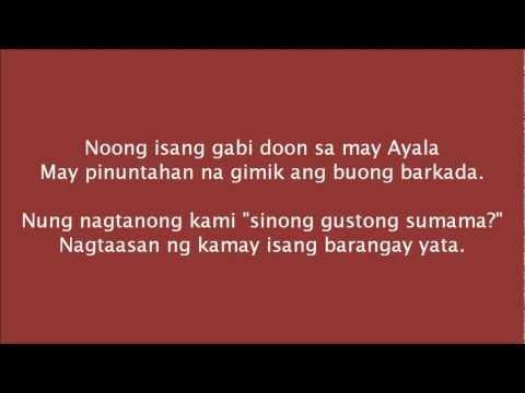 Sexballs • May Sipon si Anton (Remix) with lyrics