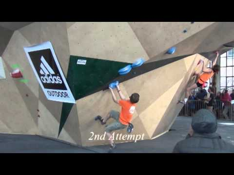 Colin Duffy Bouldering Youth Divisionals Championship Finals 2016