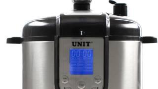 UNIT USP-1200S, USP-1210S, 1220S скороварка-коптильня(Может работать как скороварка-мультиварка и как коптильня! 12 программ скороварки-мультиварки: Рис Овсянка..., 2013-08-23T07:11:26.000Z)