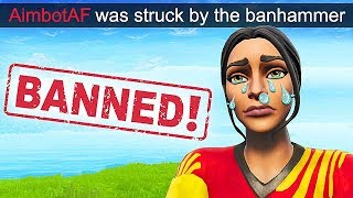 """HACKER"" EST BANNI DANS LE JEU EN DIRECT! - Fortnite Funny Fails et WTF Moments! #524"