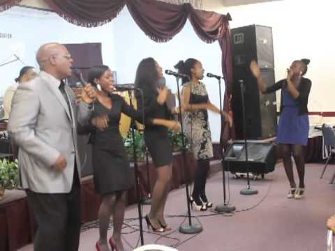 Haitian Double Double: CCA church in Brooklyn performing Uche' Agu's My God is Good Oh