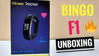 Bingo F1 Fitness Smart Band Unboxing amp Hands On