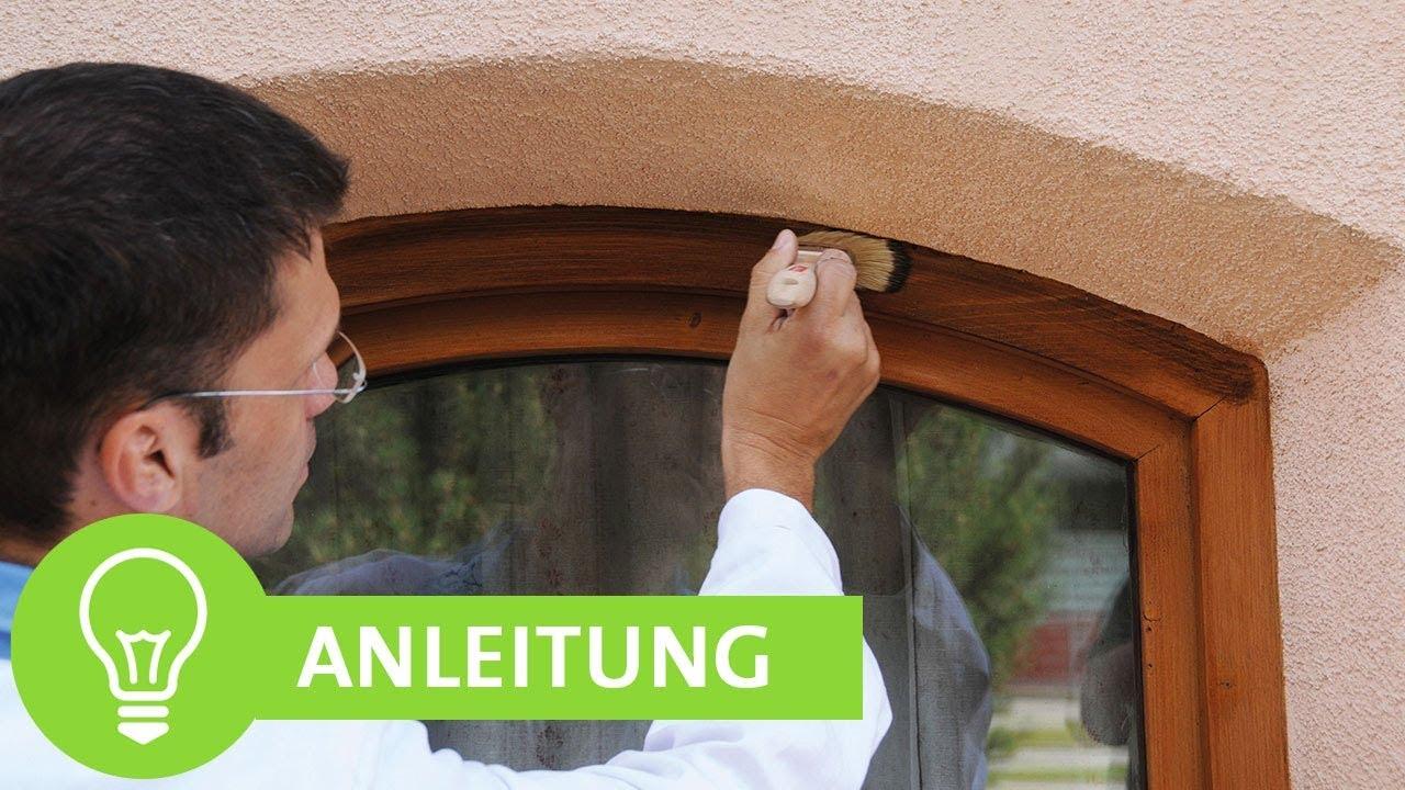 Beliebt Anleitung: Fenster, Türen, Wintergarten lackieren & streichen mit EX18