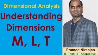 2. Physics   Class 11   Dimensional Analysis   Understanding Dimension