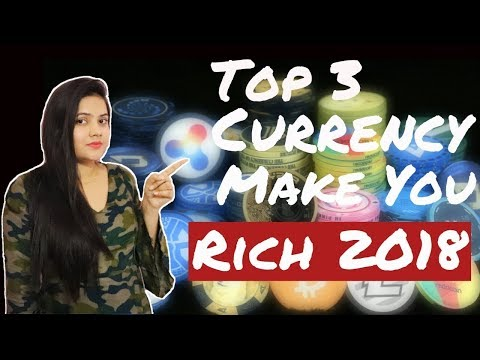 Top 3 Undervalued CryptoCurrency that can Make You Rich (Millionaire) in 2018 #Latest