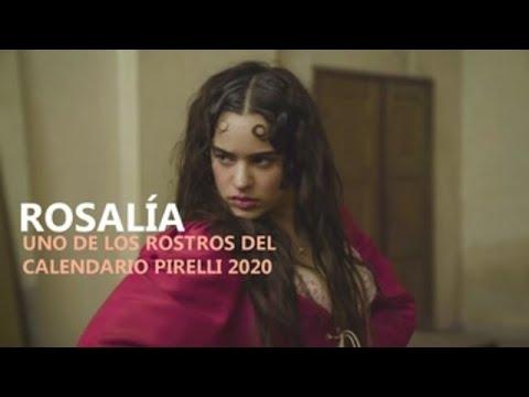Rosalía, un dos rostros do Calendario Pirelli 2020