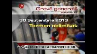 Metrou Stiri - Greva pe 30 Septembrie (amanata)