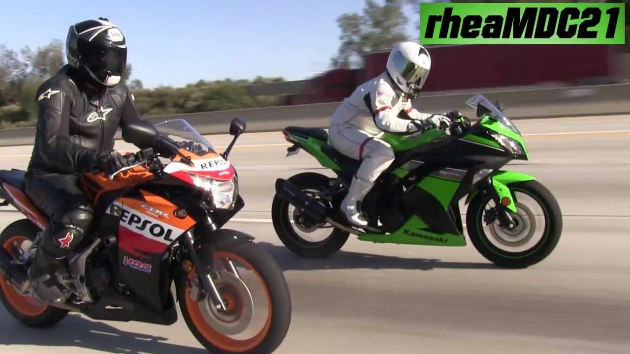 Honda Cbr Vs Kawasaki Zvideo