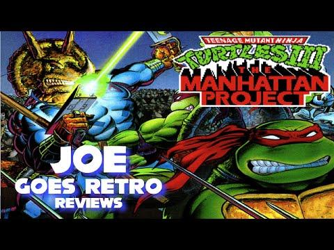Teenage mutant ninja turtles iii the manhattan project nes review