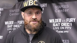 TYSON FURY: The Time Zone IS A MASSIVE ADVANTAGE!! - Arriving 8 Weeks Before Deontay Wilder Fight