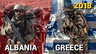 Albania vs Greece - Military Power Comparison 2018