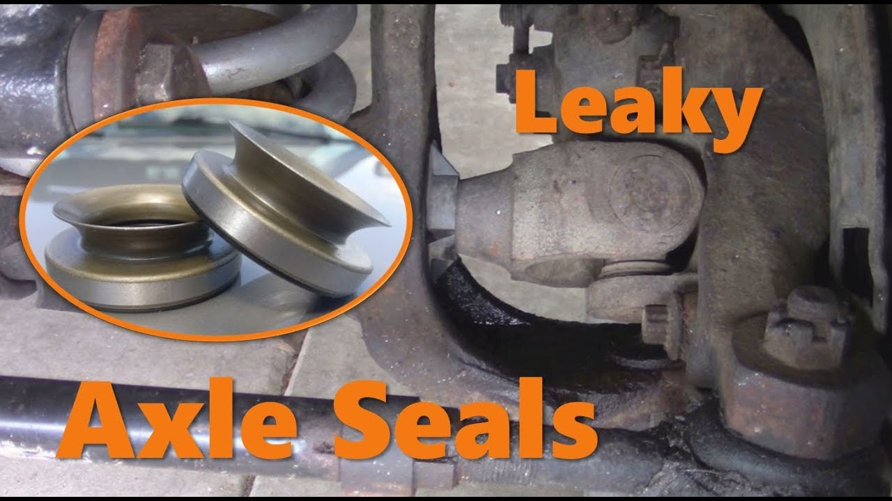 How To Replace Inner Axle Seals Youtube