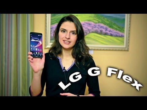 LG G Flex: первый гибкий смартфон