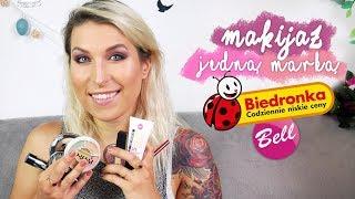 ♦ Wielki TEST kosmetyków z Biedronki Bell! Makijaż jedną marką #2 ♦ Agnieszka Grzelak Beauty