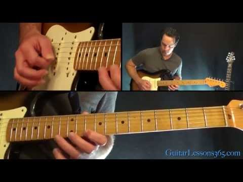The Final Countdown Guitar Solo Lesson - Europe