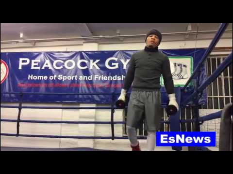 Boxing Superstar Gervonta Davis Already In London Working out Only on EsNews Boxing