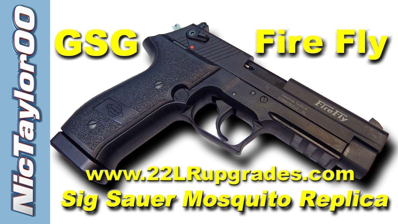Sig Sauer Mosquito Clone - The GSG FireFly