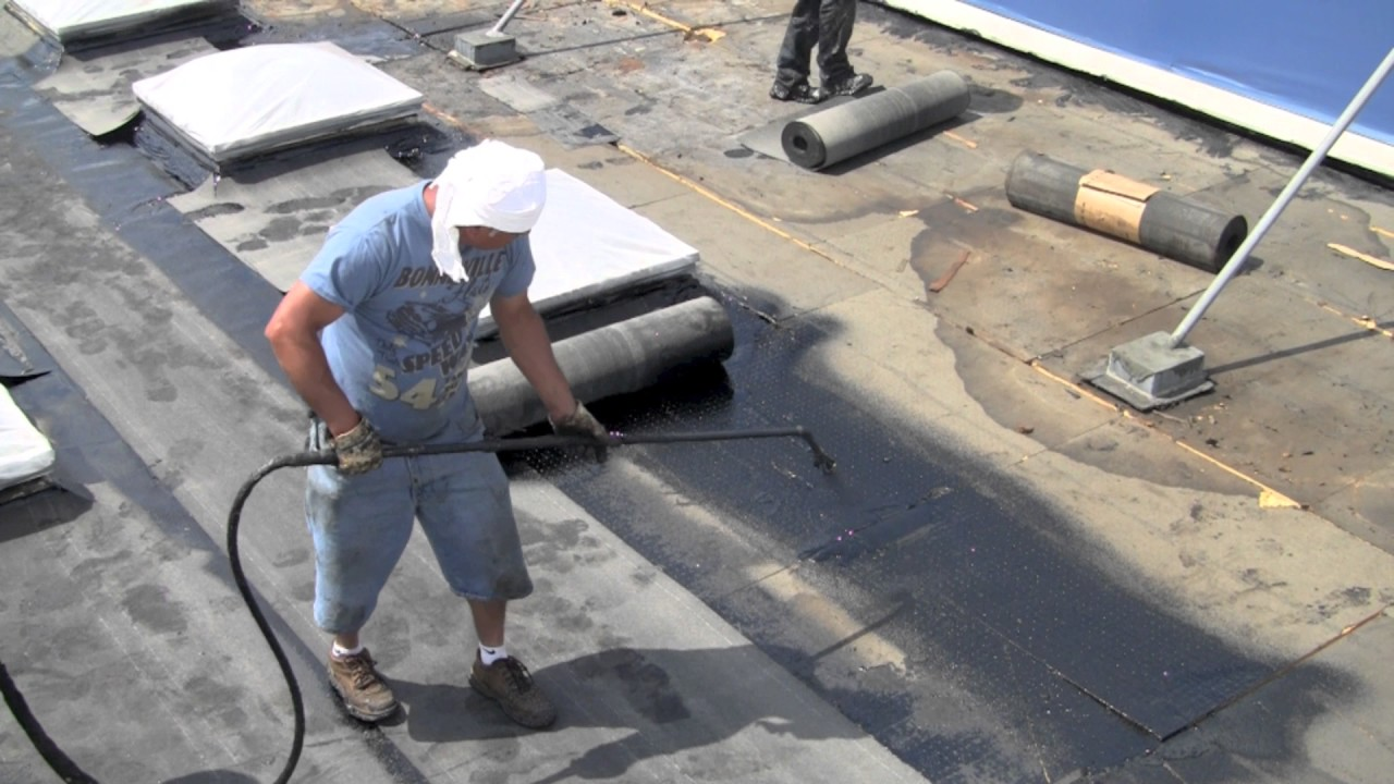Cold Applied Bituminous Membrane : Cold roofing an adaptation of torch down