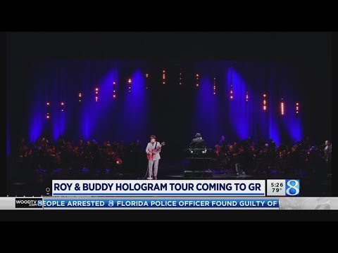 Big 95 Morning Show - Buddy Holly joins Roy Orbison on a hologram tour this fall