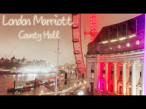 London Marriott Hotel County Hall Tour | River Thames Room View HD